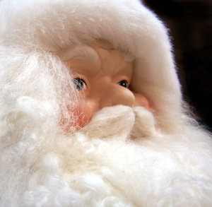 Christmas cheer: Looking forward to Xmas, and another new year!  Santa is deep in thought, making that list and checking it twice!