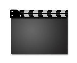 Movie clapperboard series