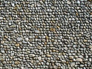 Pebble Dash Wall