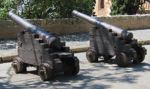 Alhambra cannons