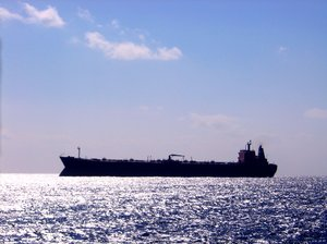 Shadow Ship: Tanker going into Freeport, Bahamas for a load of cargo