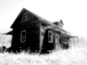 Old Black and White Homesteads