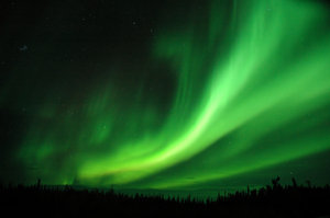 Northern Lights over Northern