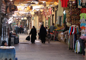 Nubian market place