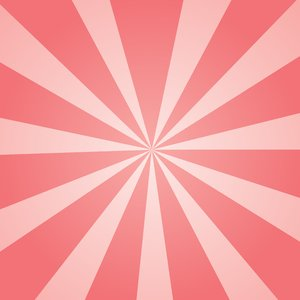 Pink Sunburst: Pink sunburst background texture.  Summer theme.