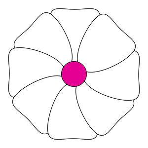 geometric flower 11