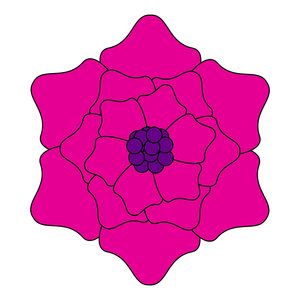 geometric flower 23