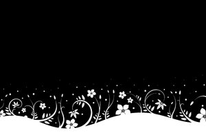 Snowy Flowers 1