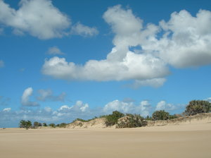 empty beach 4: photo taken in Mozambique