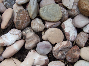 Free stock photos rgbstock free stock images rocky for Smooth river rocks for landscaping