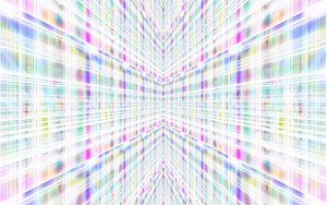 Converging Walls: Paste coloured abstract walls converging. Futuristic image. Great background, texture etc. You may prefer this:  http://www.rgbstock.com/photo/2dyVVgv/Corridors+of+Light