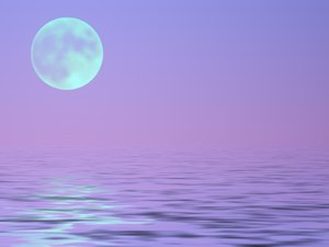 Full Moon Over Water 2