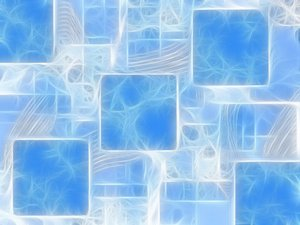 Fractal Grunge Background: Weird fractal abstract texture. A useful fill, backdrop or texture. Shades of blue and white.