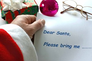Dear Santa: Santa inspects his latest requests