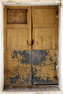 Rural door: Rural house door. Agres, Alicante.