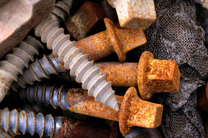 Rusted Bolts/Screws