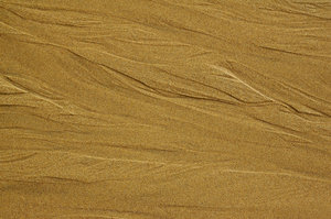 Beach Sand 1: These are marks that water makes in the sand as it is flowing back to the sea.