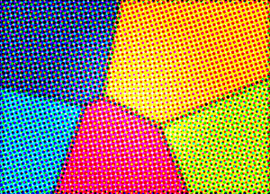 Color Halftone B