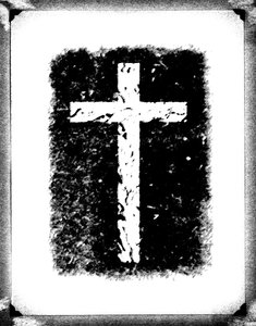 Vintage Cross: Black and White Cross on Vintage Background.Please visit my stockxpert gallery:http://www.stockxpert.com ..