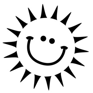 Summer: Very simple graphic happy sun.Please visit my stockxpert gallery:http://www.stockxpert.com ..