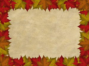 Autumn Leaves Border 2