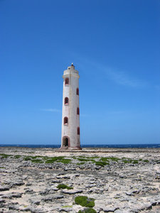 Deserted lighthouse