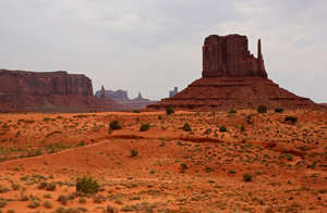 American dream 7: Landscape of monument valley