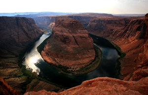 Horseshoe bend 1: Landscape of horseshoe bend