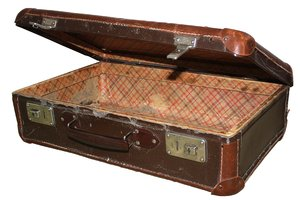 suitcase 2: old suitcase