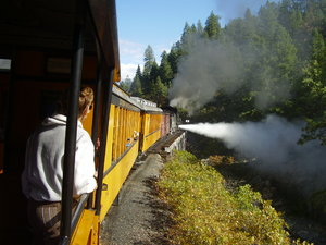Durango, Silverton Railroad: Durango to Silverton Railroad trip through Colorado mountains