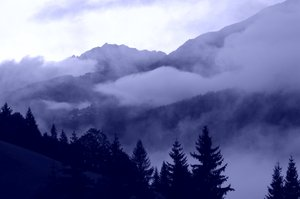 Misty mountain valley 2