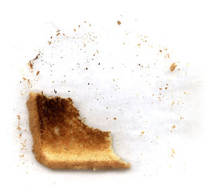 Toast 4: Variations on a piece of toast.Please visit my stockxpert gallery:http://www.stockxpert.com ..