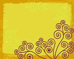 Flourishes: Smooth Flourishes on a Rough Background.This is the Lo Res version.For the Hi Res version visit:http://www.stockxpert.com ..