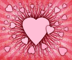 Heart Burst: Lo Res version of a heart burst.For a larger version,please visit:http://www.stockxpert.com ..