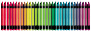Crayons: A collection of colorful crayons.Please visit my stockxpert gallery:http://www.stockxpert.com ..