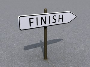 Finish direction