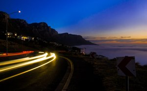 A drive on Camps Bay