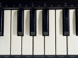 Sampler keyboard 9