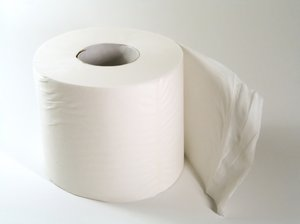 Toilet paper 2: It can be useful...  ;-)