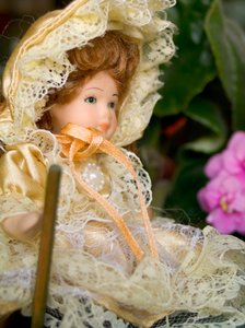 Doll in the garden 4