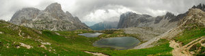 Panorama of Dolomites