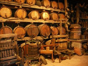 cellar in monastery