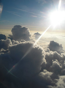 Heaven: Taken from a plane