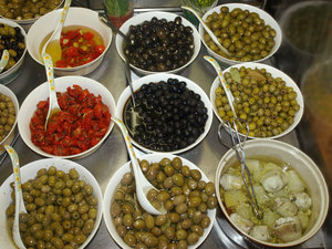 Olive: Buying some fresh olives