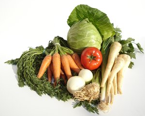 Vegetables: Fresh vegetables