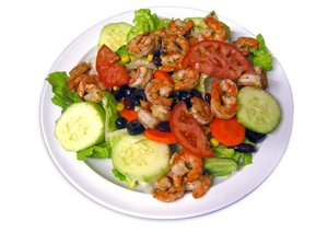 Salad de Camaron: Salad with Shrimp