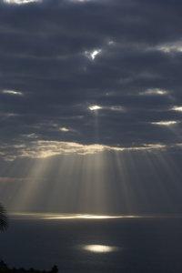 Strange sky in Madeira 2