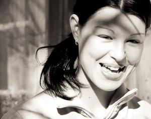Edina's smile