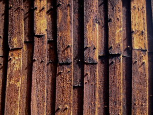 Stave church, Detail