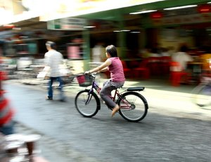 On The Bicycle 2